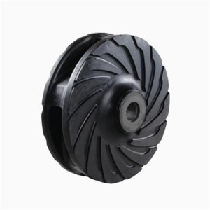AH Slurry pump rubber impeller