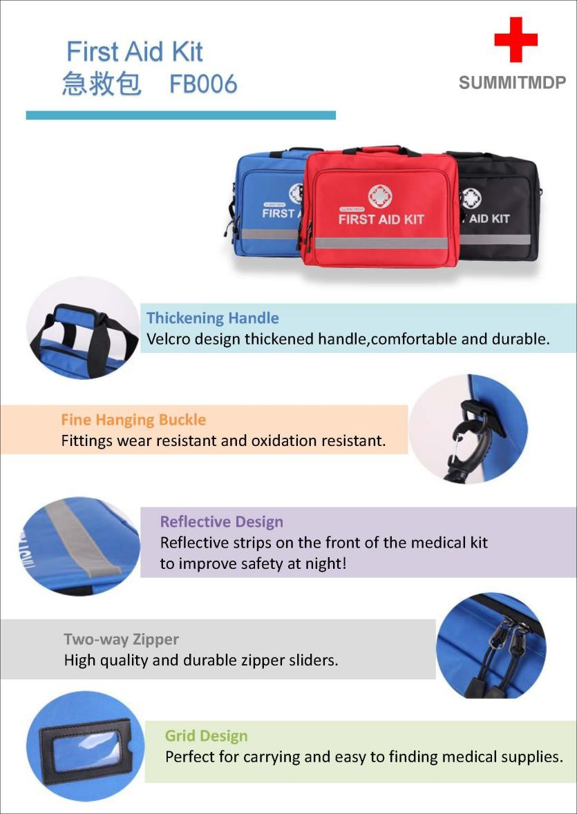 Summit medical products company launched professional first aid kit collection