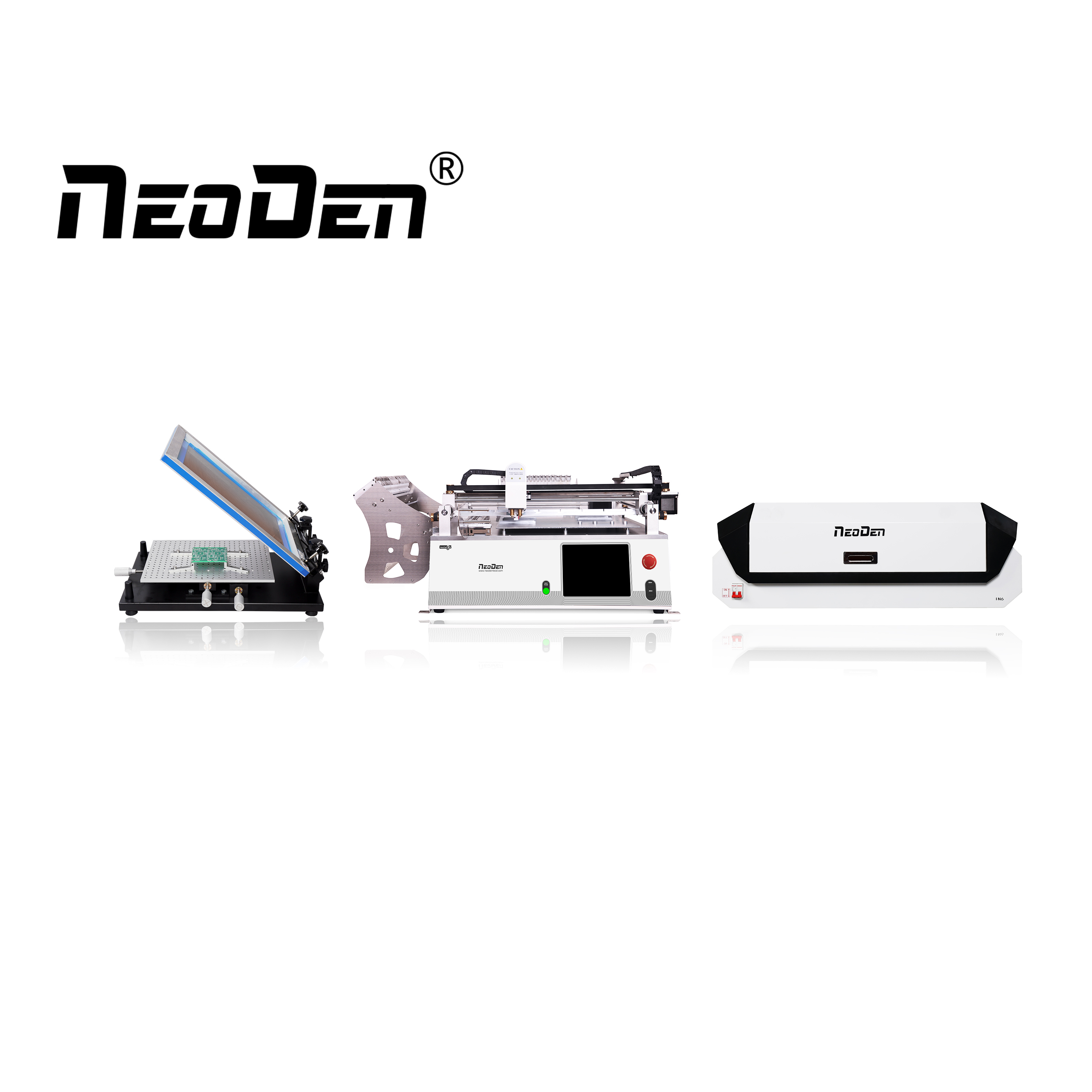 NeoDen small budget production line for start-ups