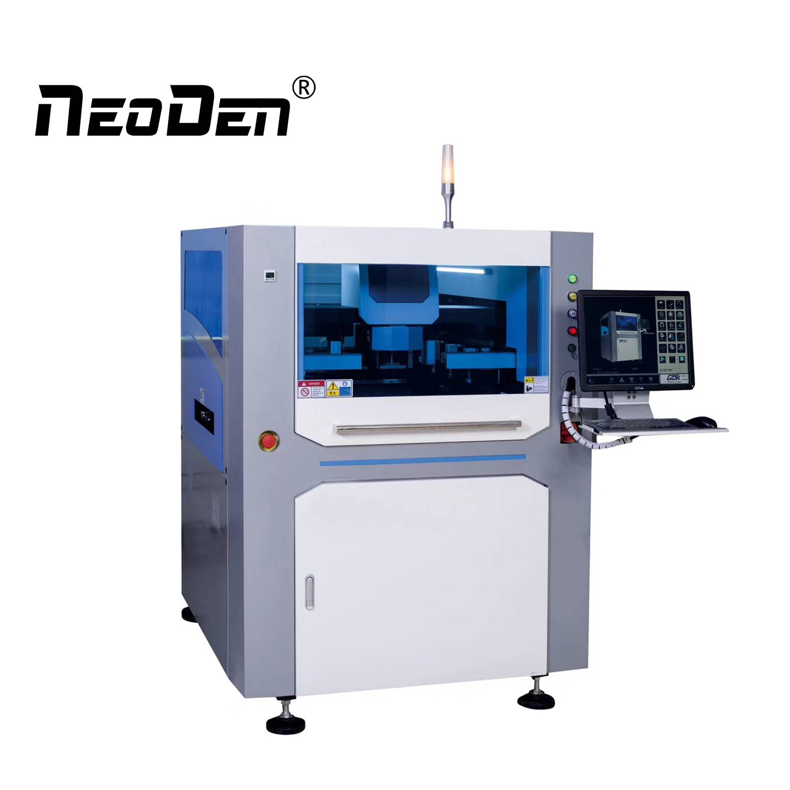 Working principle and technique of SMT automatic solder paste printing machine