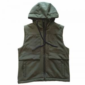 Outdoor Windproof Softshell Waterproof Vest White Vest Men Sleeveless Jacket