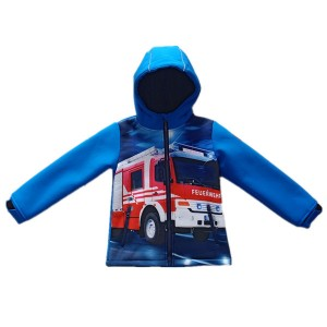 Kids Softshell Jacket Outdoor Clothing Comfortable Garment for Sport
