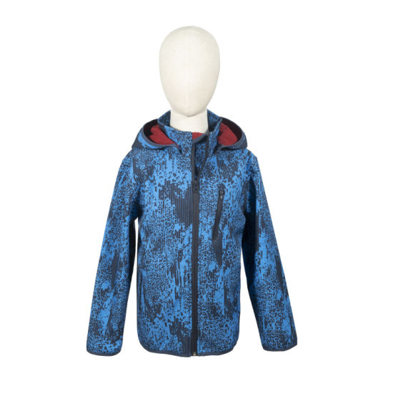 Children′s Winter Fleece Softshell Jackets Kids Sport Coats Outdoor Children Camping Hiking Trekking Windbreaker Jackets