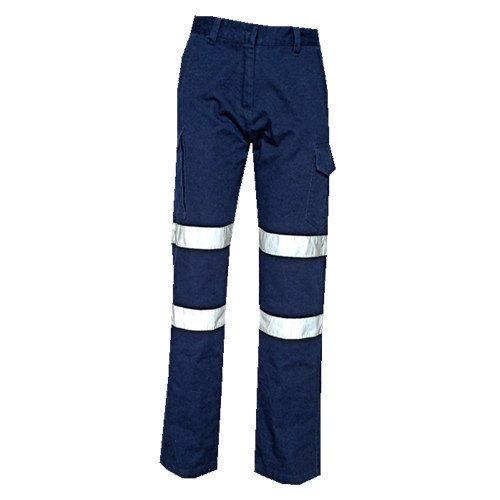 Multi-Pocket Comfortable Fabric Workwear Working Pants with Reflective Tape