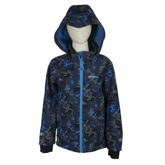 Customization Kids Girls and Boys Woven Softshell Rain Jacket Children Clothes Custom Rain Jacket Featured Image