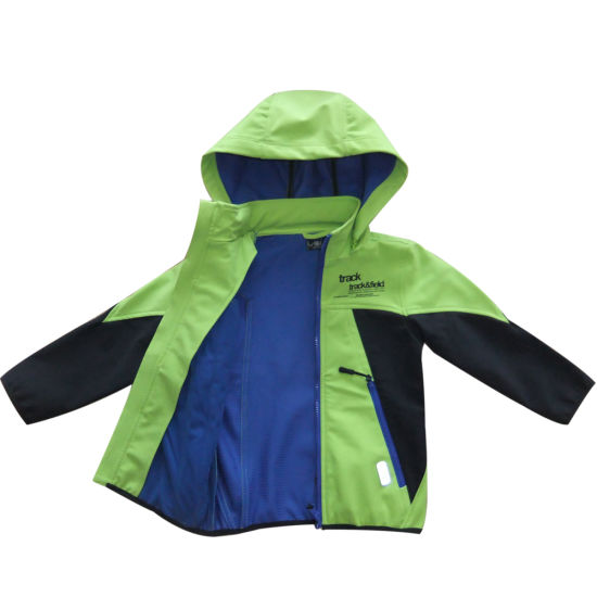 Kids Softshell Jcaker Outdoor Coat Comfortable Wear for Sport