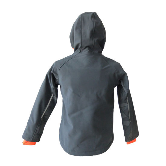 Kids Softshell Jacket Outdoor Apparel Comfortable Clothing for Sport