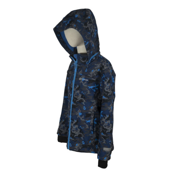 Kid Lightweight Waterproof Windbreaker Outdoor Sports Softshell Jacket