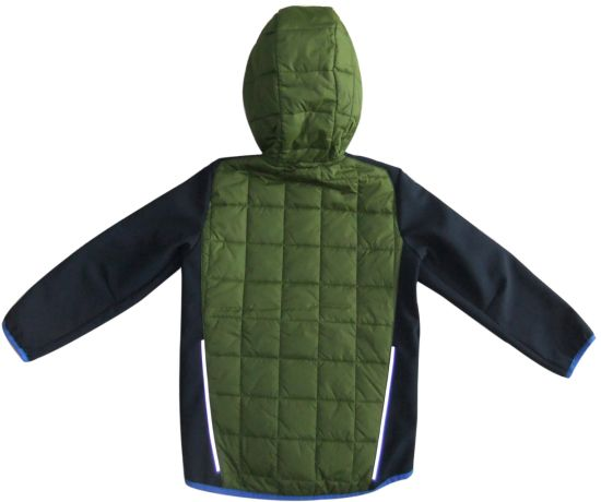 Full-Zip Lightweight Waterproof a C Tive Performance Camo Jacket Kids Wear Outdoor Softshell Kids′s Jacket