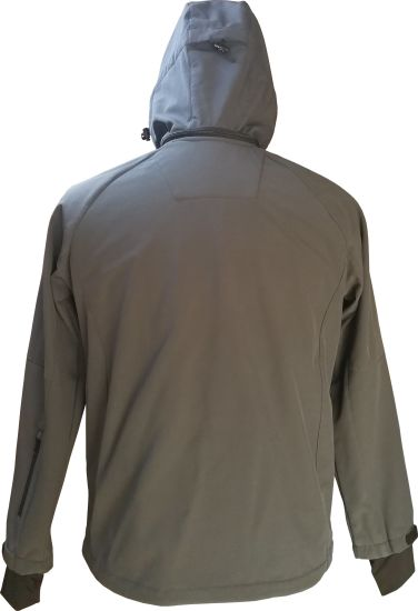 Softshell Jacket for Men with Windproon Waterproof and Breathable