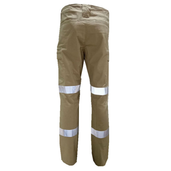 High-Vis Craftsman Trousers Cargo Pants Hivis Kneepad Trousers Mens Cargo Pants Stretch Workwear Pants