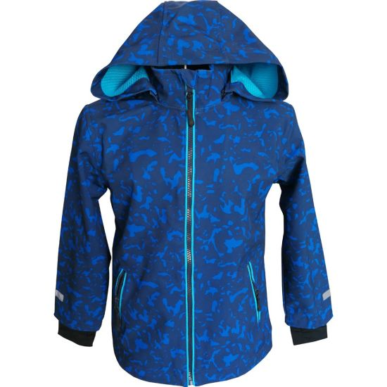 Boy′s Softshell Jacket with Windproof, Waterproof and Breathable