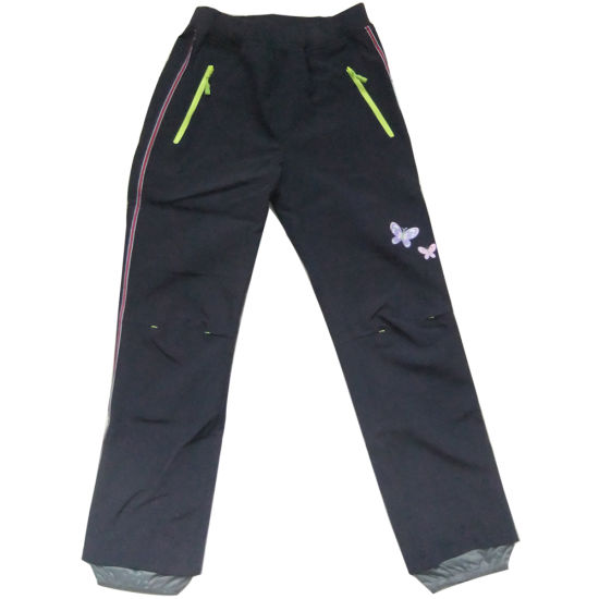 Girls Softshell Pants for Ooutdoor Sports