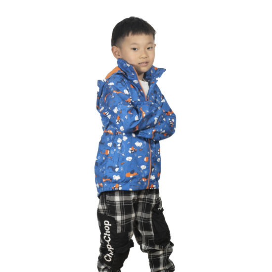 Wholesale Softshell Kids Jacket Waterproof Rain Jacket