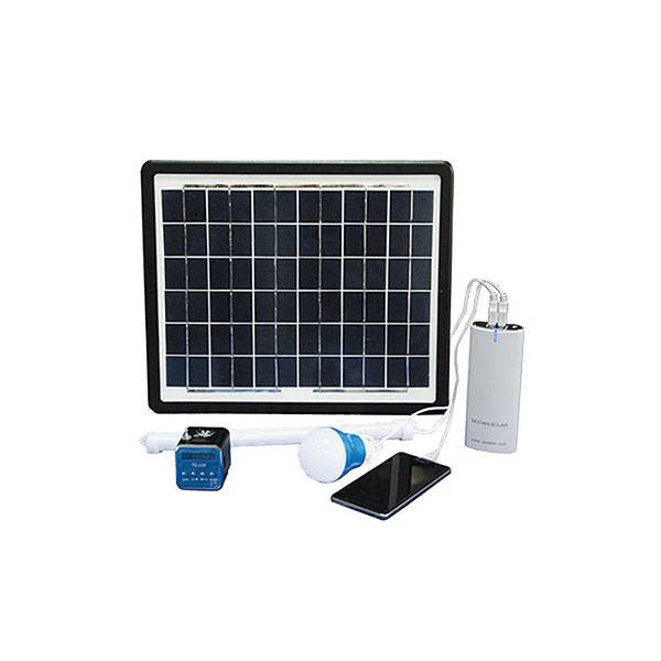 Portable Solar Power Kit MLW 10W Featured Image