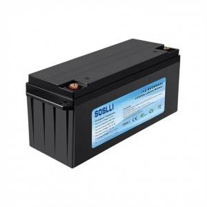 Competitive Price for 14430 Lifepo4 Battery - 12V 200Ah LiFePO4 Deep Cycle Battery – Soslli