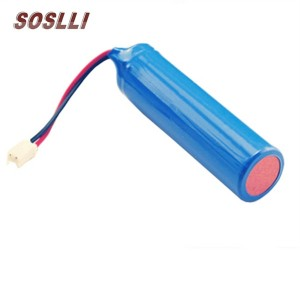3.7V 2600mAh Lithium Battery 18650 battery pack for Curing light
