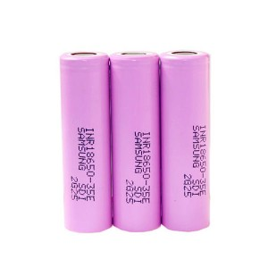 18650-35E 3.7V 3500mAh cell li ion battery