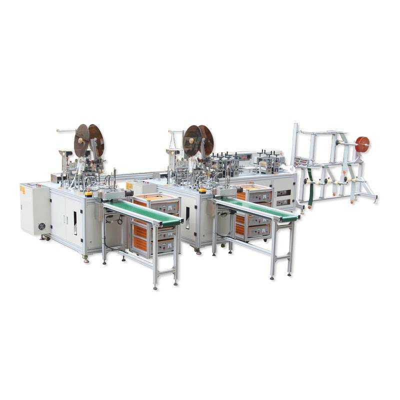 Fully Automatic Flat Mask Making Machine 1+2 Featured Image