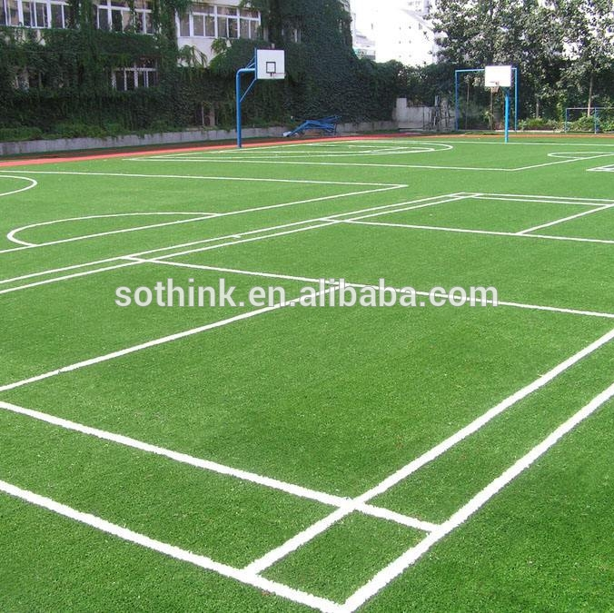 Long warranty UV resistence artificial grass lawn for football