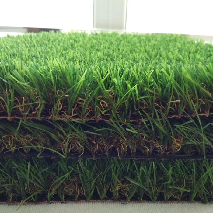 Free sample UV resistance durable 4 colors soft fake grass artificial turf