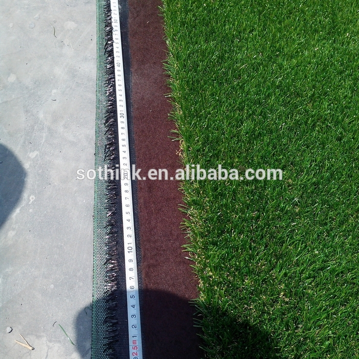 50mm two tones artificial grass carpets for football stadium