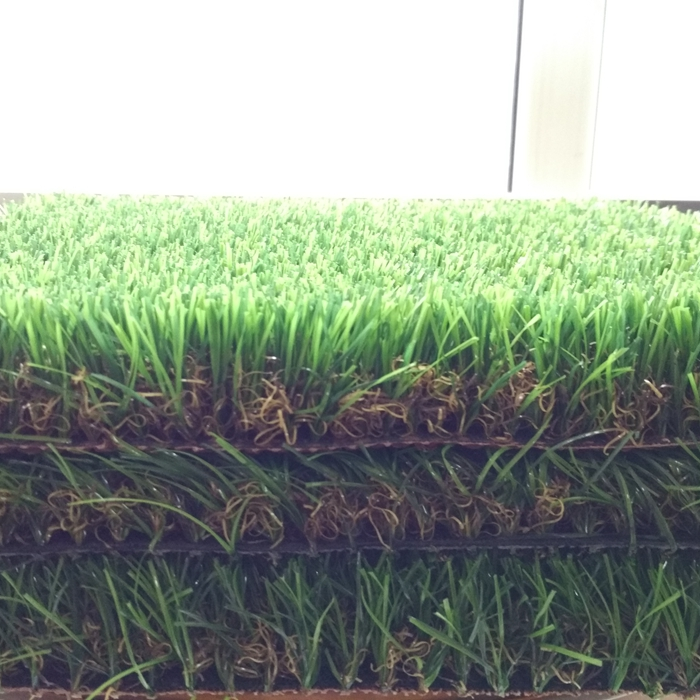 Hot sale natural 4 colors high density soft factory decoration grass