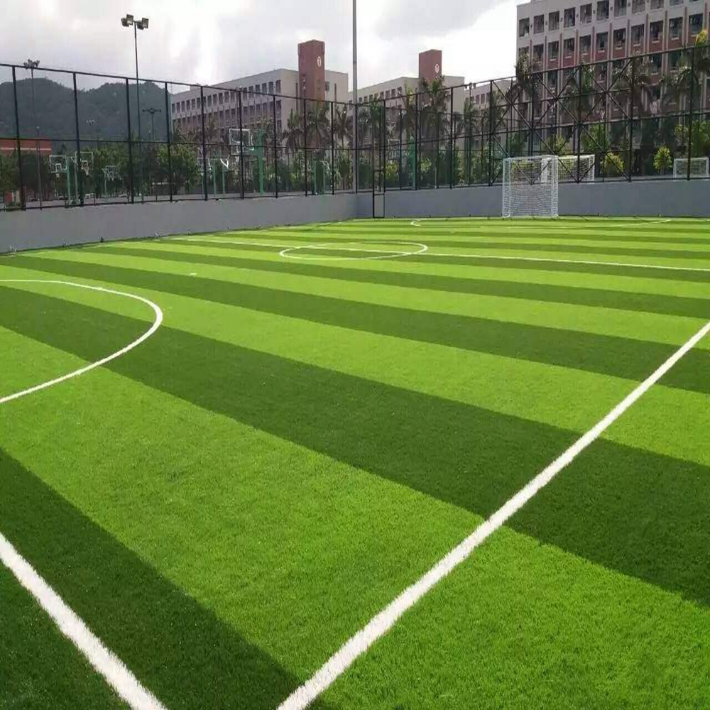 Hot sale free sample green 50 mm football field futsal artificial grass