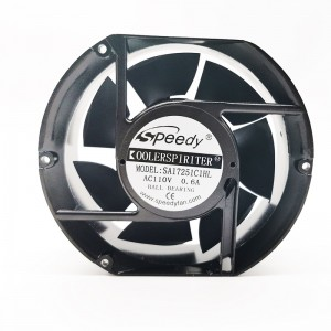 AC FAN SA17251-3 17251 172mm ventilador ac axial cooling fan 17251 172x150x51 mm 110v 220v