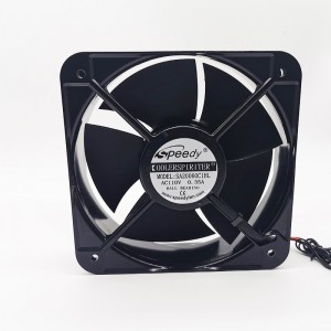 SA20070 200x200x70mm 110v exhaust fan cooler 220v 200mm 20070 ac axial cooling fan