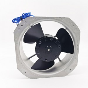 SA22580-1 230V AC Powerless Industrial Ventilation Fans 225x225x80mm 65W 225MM 8 INCH
