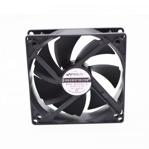 DC COOLING FAN SD10025  10025 100x100x25mm 10cm 100mm 4 inch 12v Ball Bearing CE Approved dc computer fan DC axial Brushless cooling Fan
