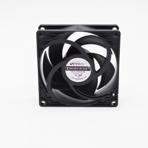 SD08025 12v 24v 48v 80mm 8cm 80x80x25mm 5V High flow low noise Computer Cpu Fan 12V 24V 8025 dc cooling fan