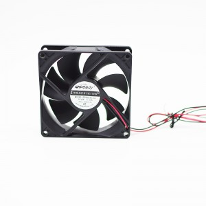 SD09225-1  factory supply 12v dc brushless fan 92X92x25mm 9225 9025 sleeve bearing high airflow silent fan