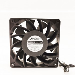 EC FAN SE12038-1 120x120x38mm 12038 12cm 120mm 110V 220V EC Axial/Cooling Fan 120mm ventilation fan
