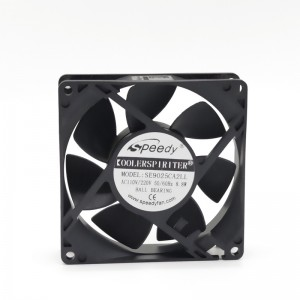 EC FAN SE09025 90x90x25mm 9025 9cm 90mm 110V 220V EC Axial/Cooling Fan 90mm ventilation fan