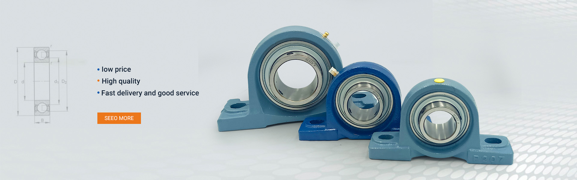 Mounted Ball Bearing Units2