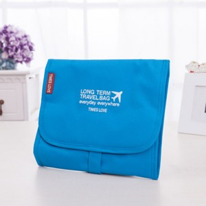 Outdoor travel portable waterproof three-in-one foldable Oxford cloth storage bag
