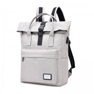 Multifunctional usb travel backpack portable shoulder computer bag
