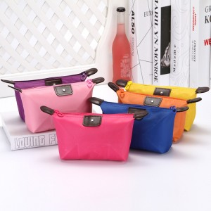New Nylon Dumpling Cosmetic Bag Waterproof Storage Toiletry Bag