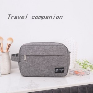 Factory direct portable portable cosmetic storage bag Washed nylon large capacity multifunctional toiletry bag