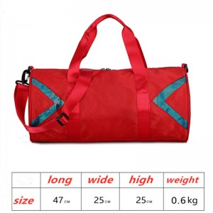 Sports fitness bag waterproof lightweight travel bag large capacity yoga bag