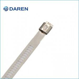 Stainless steel cable Ties-Ladder Single-Lock Uncoated Ties
