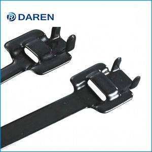 Stainless steel cable Ties-Releasable Fully Polyester Coated Ties