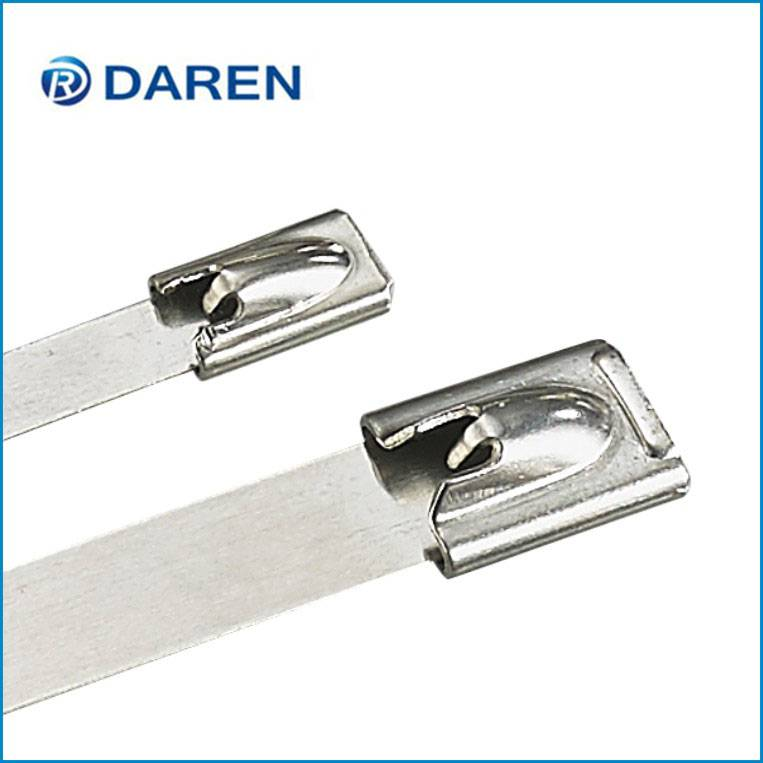 Stainless steel cable Ties-Ball-Lock  Uncoated Ties Featured Image