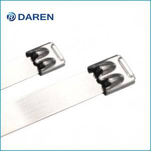 Stainless steel cable Ties-Ball-Lock Double Wrapped Uncated Ties