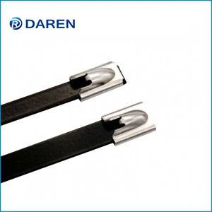 Stainless steel cable Ties-Ball-Lock Polyester ...