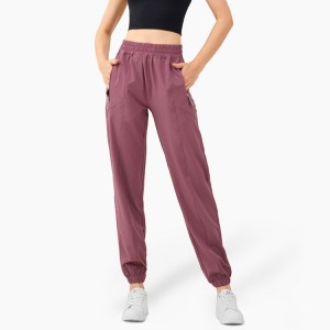 Women's Yoga Sweatpants Quick dry Workout Joggers Pants Loose Comfy Lounge Pants with Pockets