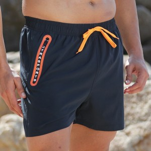 Stamgon Men's Sportwear Quick Dry Board Shorts with zipper pockets