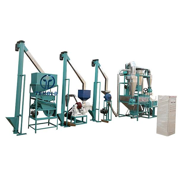 12T/D Maize Mill Machine Featured Image